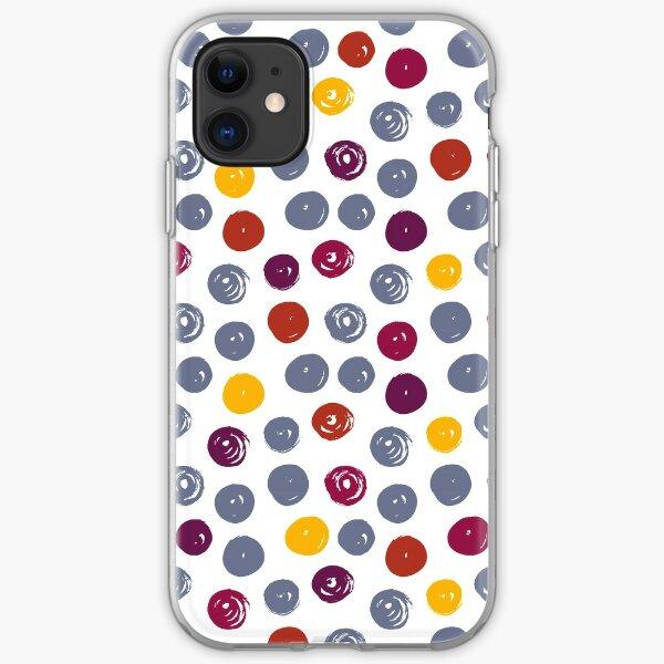 Autumn Swirls iPhone Soft Case
