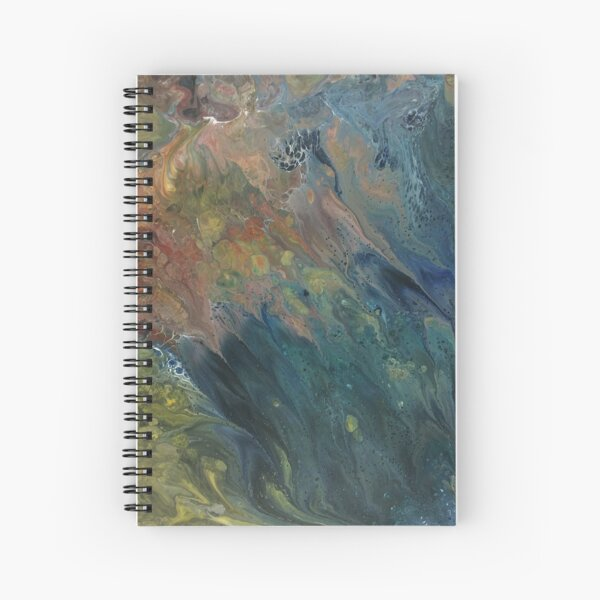 The River Dreams of Spring Spiral Notebook