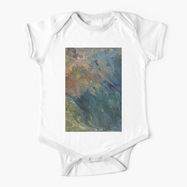 The River Dreams of Spring Short Sleeve Baby One-Piece