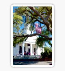 Fellowship Under The Stars And Stripes - Murrells Inlet, South Carolina USA 2015 Sticker