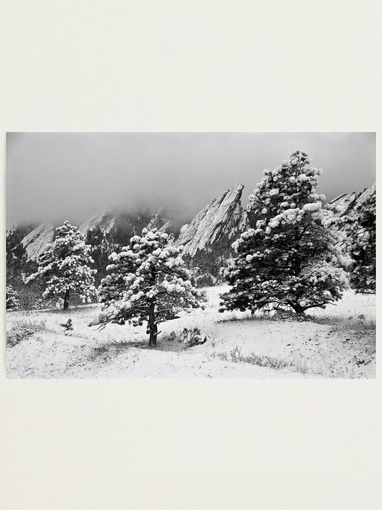 Alternate view of The Third Flatiron From Bluebell Road Photographic Print