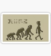 Rick and Morty-- humans Sticker