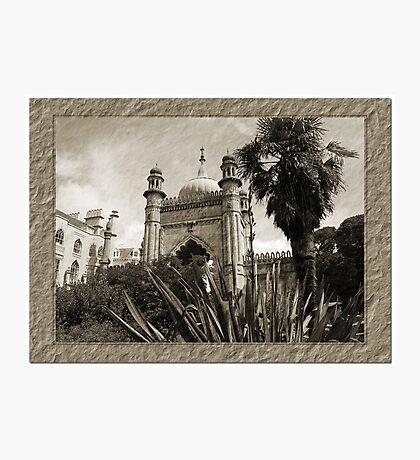 Brighton Pavillion B&W Photographic Print