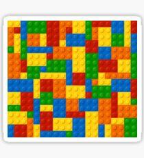 Plastic Blocks Sticker