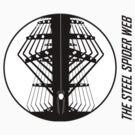steel spider web by fabio piretti