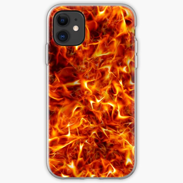 Fire for decorative products iPhone Soft Case