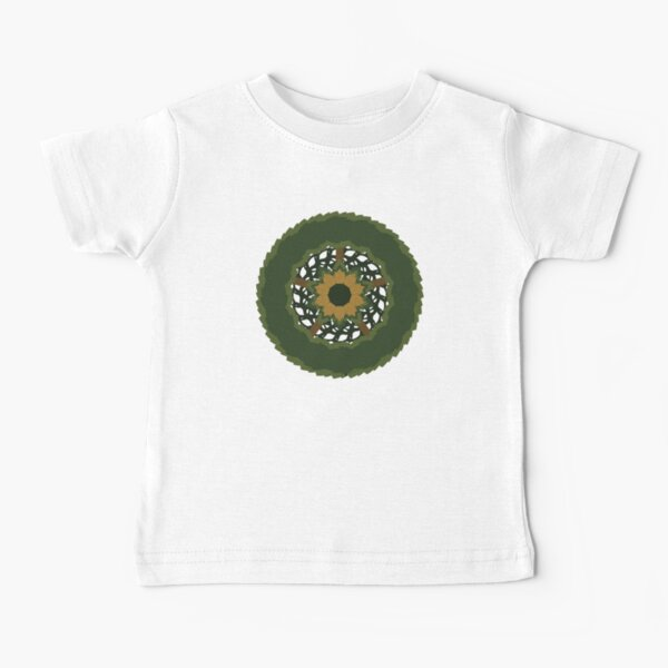 Spring Wreath-Traditional Version Baby T-Shirt