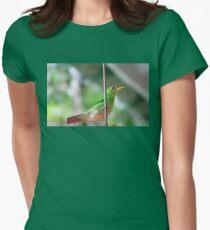 Female green honeycreeper T-Shirt