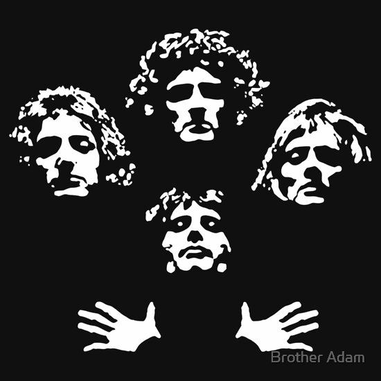 TShirtGifter presents: Queen - Bohemian Rhapsody