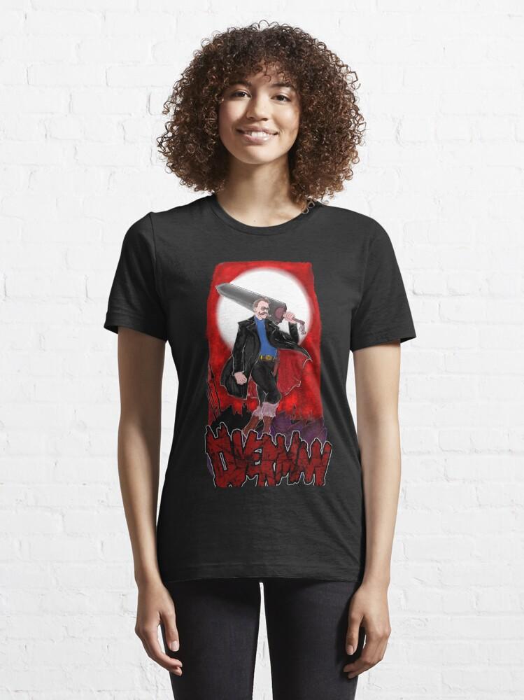 Alternate view of Overman: Nietzsche Essential T-Shirt