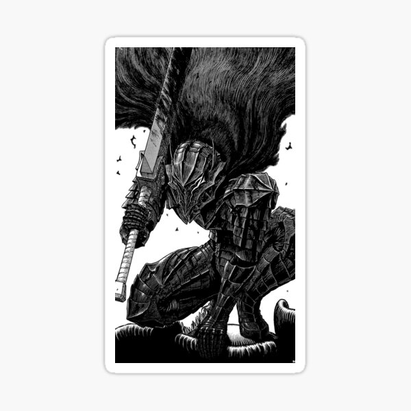 """Guts armure"" Berserk Sticker"