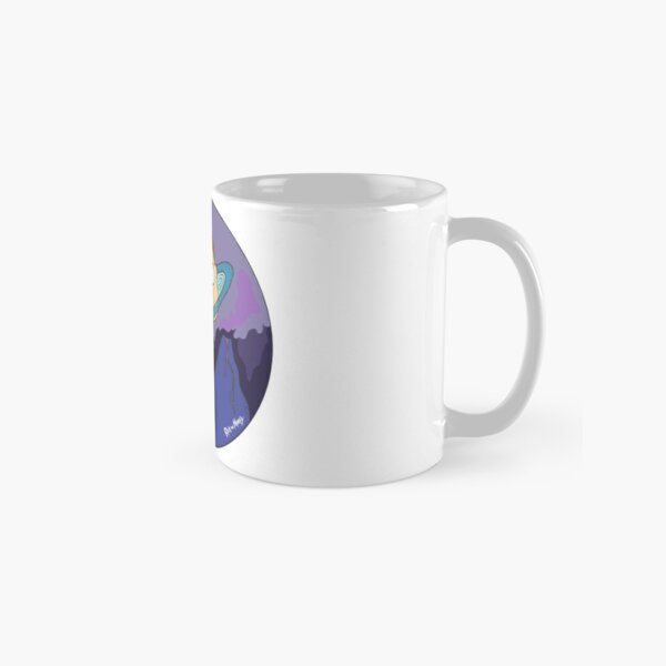 Morty's Death Crystal Space Adventure Classic Mug