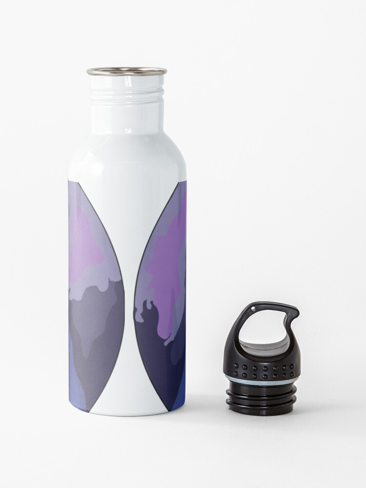 Alternate view of Morty's Death Crystal Space Adventure Water Bottle