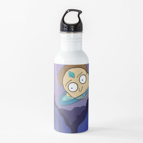 Morty's Death Crystal Space Adventure Water Bottle