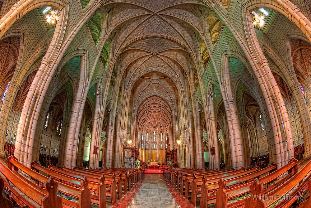 St John's Cathedral • Brisbane • Australia by William Bullimore