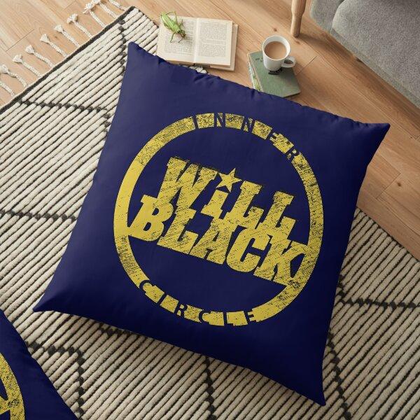 WB Inner Circle GOLD (center ice logo) Floor Pillow