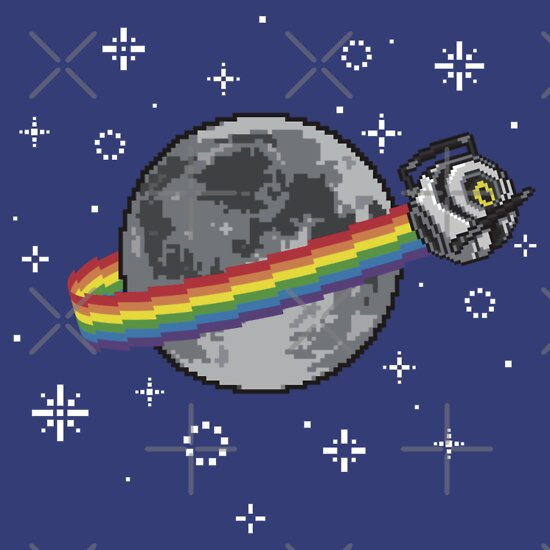 TShirtGifter presents: Nyan Space Core