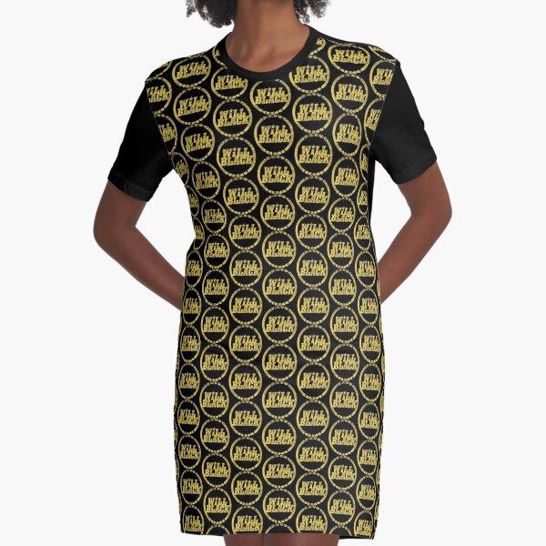 WB Inner Circle GOLD (center ice logo) Graphic T-Shirt Dress