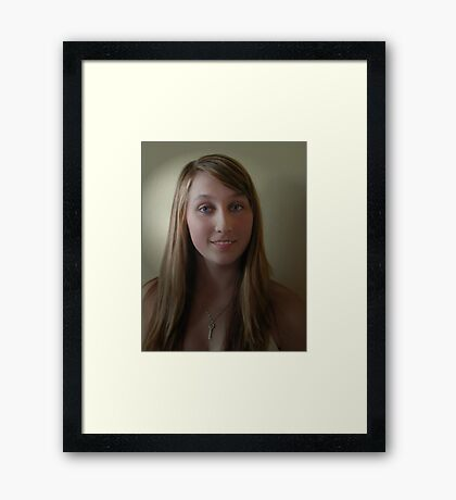 Shannon  My Little Poppet Framed Print