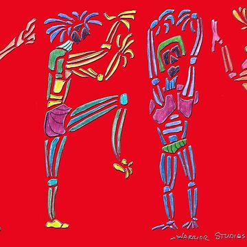 Dance Warriors War Party by JimmyGlenn