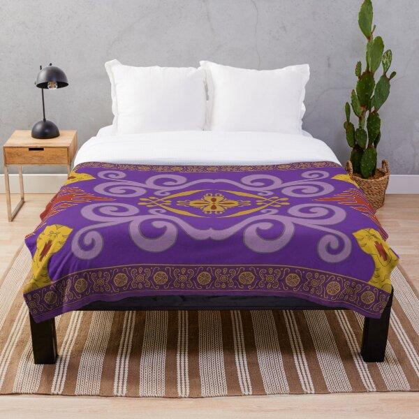 Magic Carpet  Throw Blanket