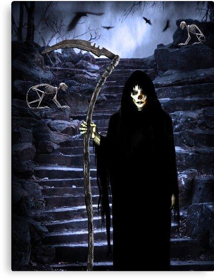 Grim Reaper by Elizabeth Burton