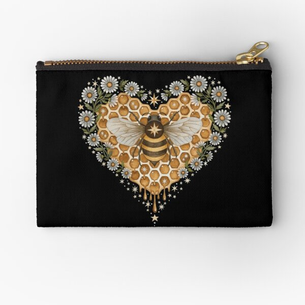 Sweet heart Zipper Pouch