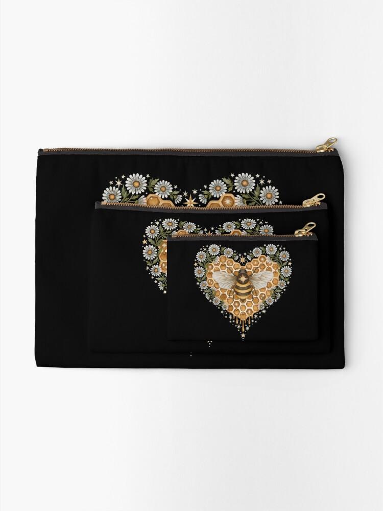 Alternate view of Sweet heart Zipper Pouch