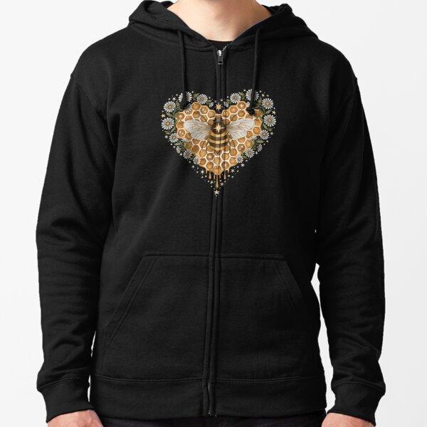 Sweet heart Zipped Hoodie