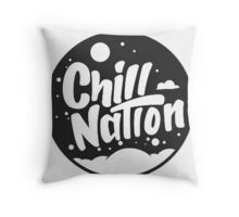 Chill Nation Throw Pillow