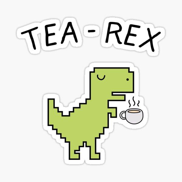 Tea - Rex Sticker