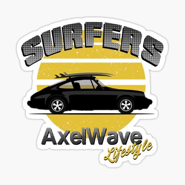 Surfers 911-1 Sticker