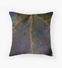 Rainbow Leaf (8033) Throw Pillow