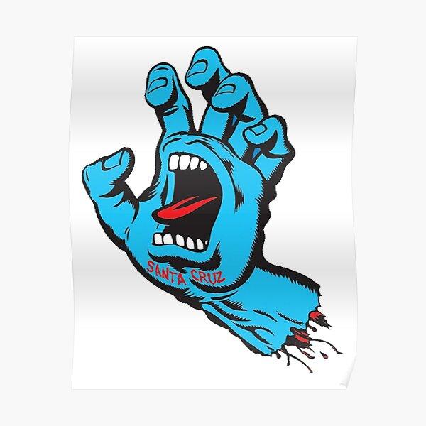 the hand of cruz factory merch  Poster