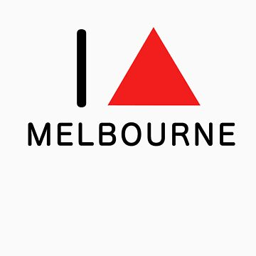 i ∆ melbourne (red) by simonpericich