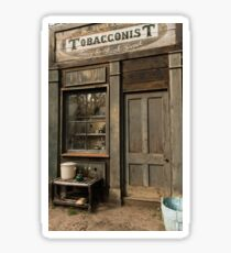 Australian Pioneer village Tobacconist Sticker