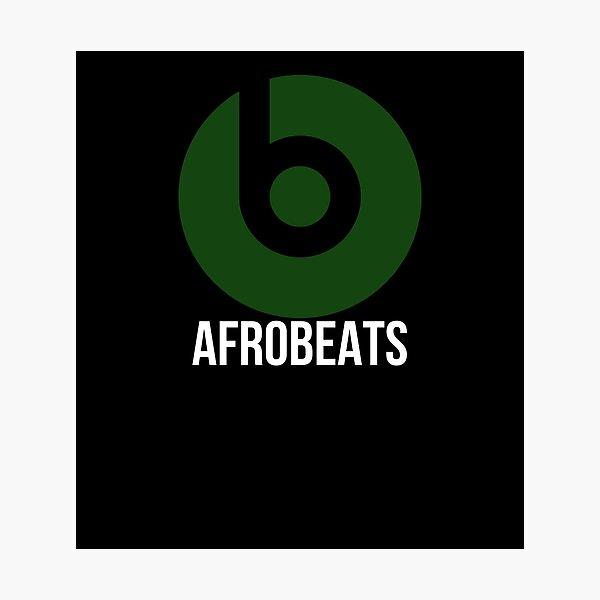 Love Afrobeats Nigerian/Ghanian Music  Photographic Print