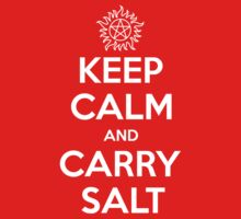 Keep Calm and Carry Salt