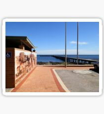 Port Victoria Jetty Sticker