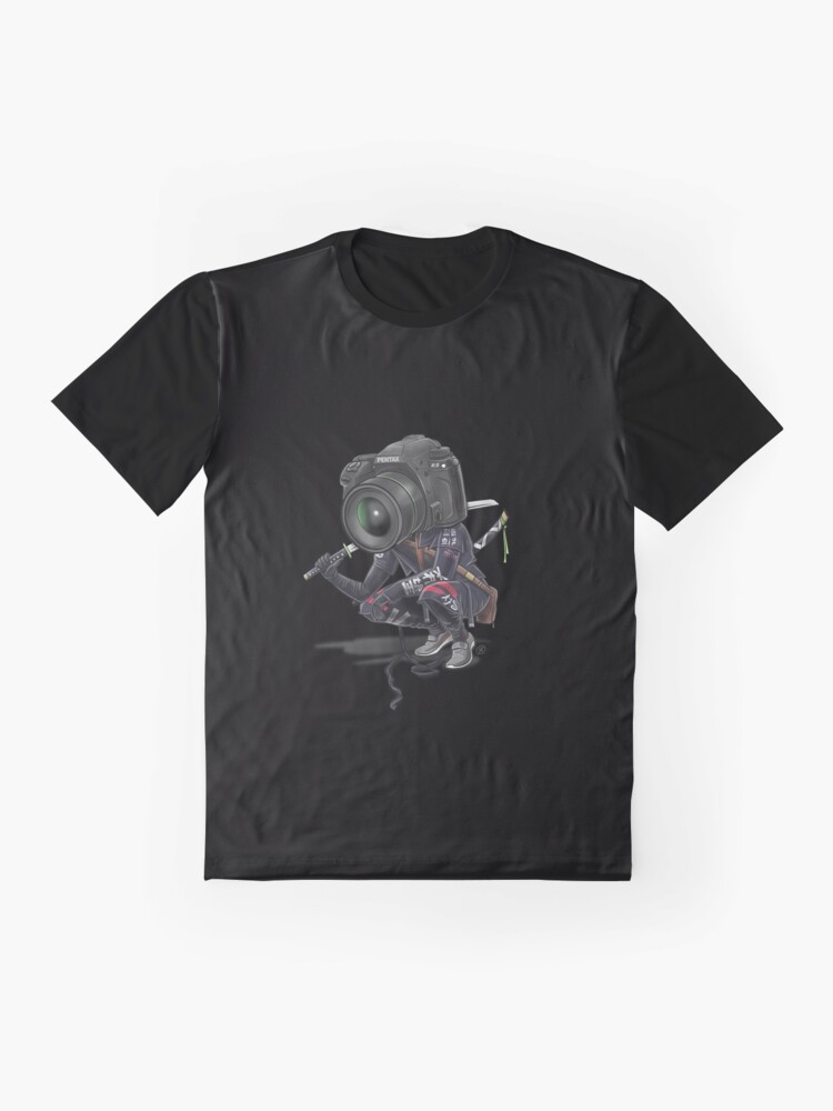 Vista alternativa de Camiseta gráfica Pentax K5 Samurai