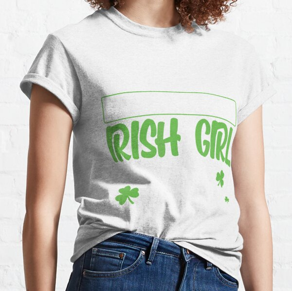 Qiop Nee Irish Flag with Shamrocks Short Sleeves Tshirts Baby Girl