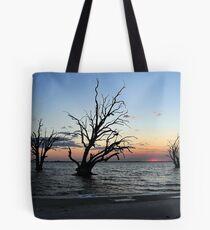 Sunset at Lake Bonny Tote Bag