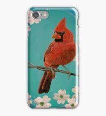 Cheeky Cardinal iPhone Case/Skin
