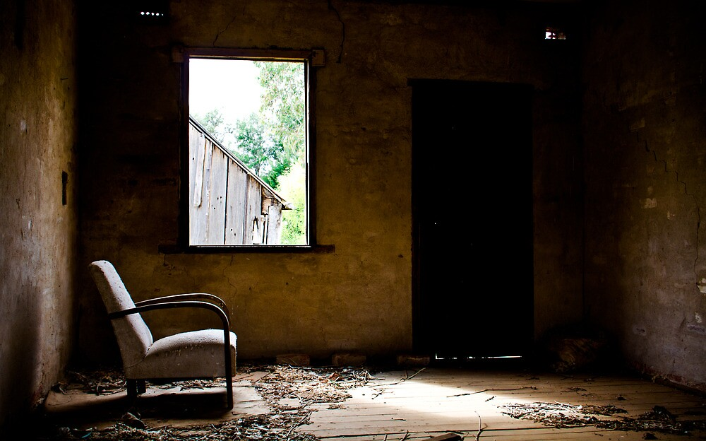 Solitary - Disused Shearers Quarters, Bathurst by First Light Imagery