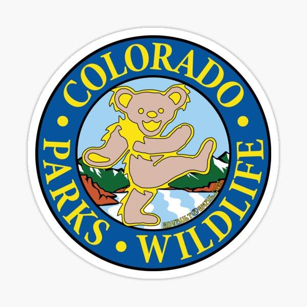 Colorado Parks & Wildlife Deadheads Unite! Sticker
