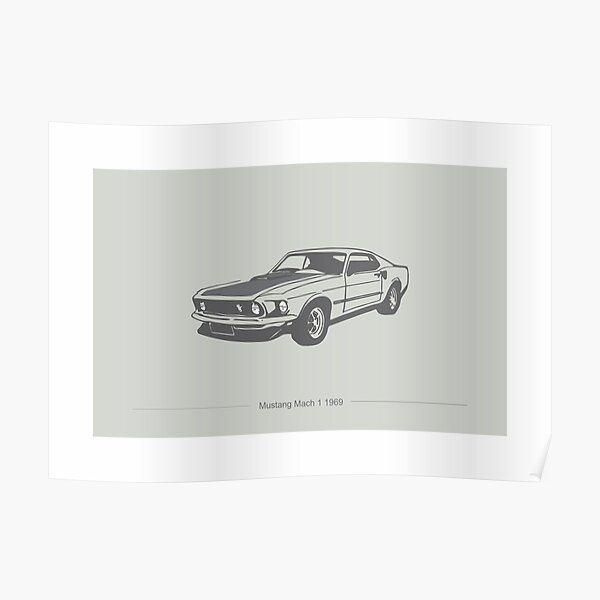 Mustang Mach 1  Poster