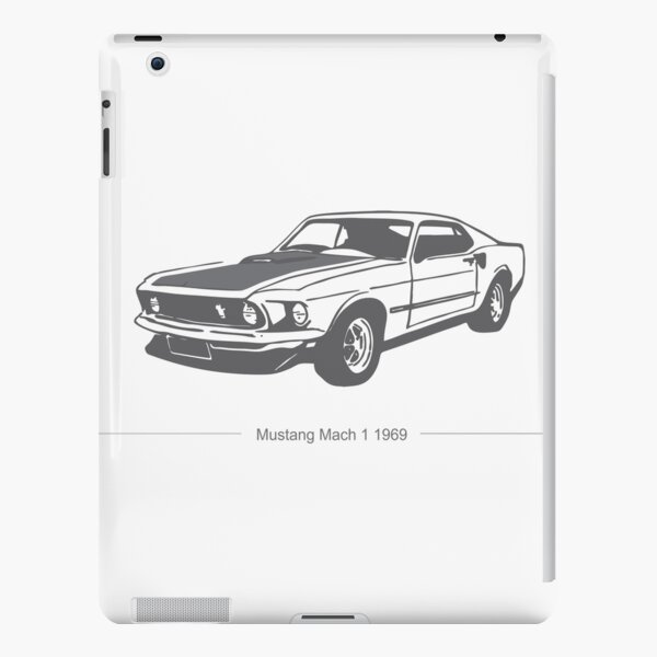 Mustang  iPad Snap Case