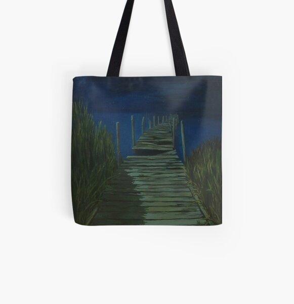 Boardwalk All Over Print Tote Bag