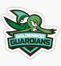Goldenrod Guardians Sticker