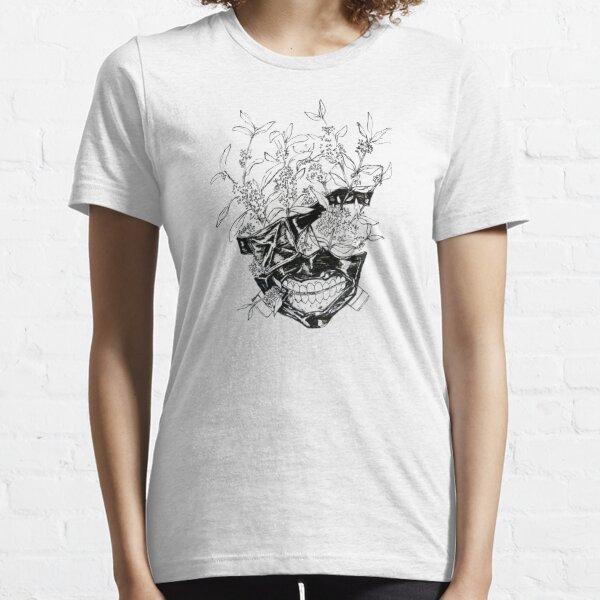 Kaneki Flower Mask Essential T-Shirt